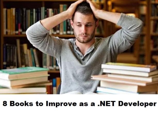 8 Books to Improve as a .NET Developer