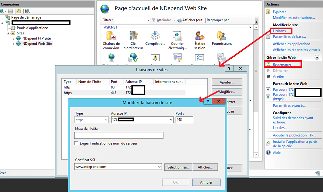 Migrating from HTTP to HTTPS in a IIS / ASP NET environment - NDepend