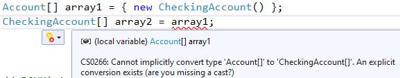 C# array contravariance