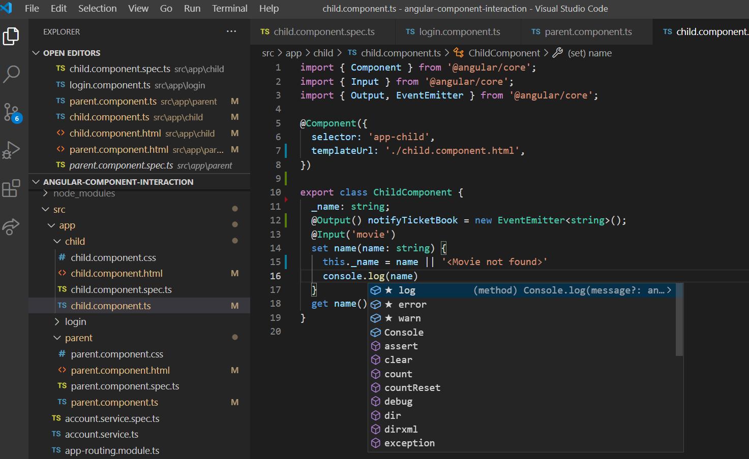 IntelliCode enable for Typescript code VSCode