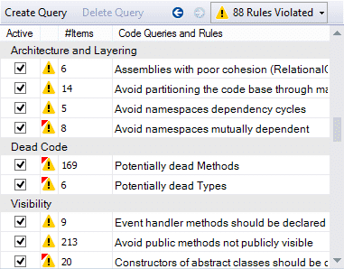 NDepend Rules