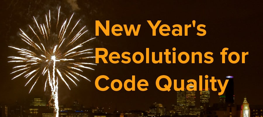 new year's resolutions for code quality