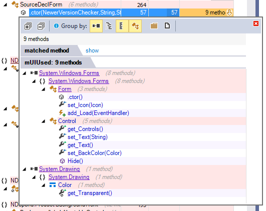 Detail in Large Scale Refactoring Impact Analysis with Code Query