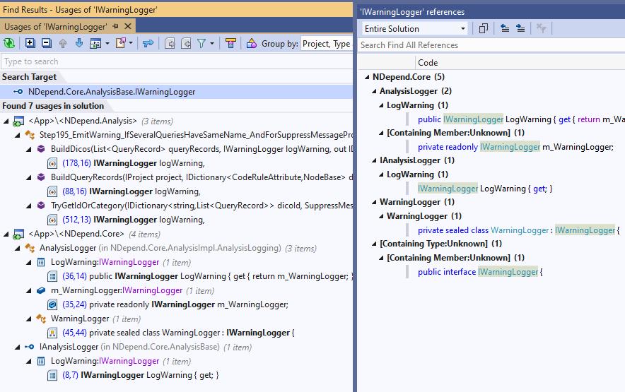 Resharper-find-all-usages-vs-Visual-Studio-find-all-references