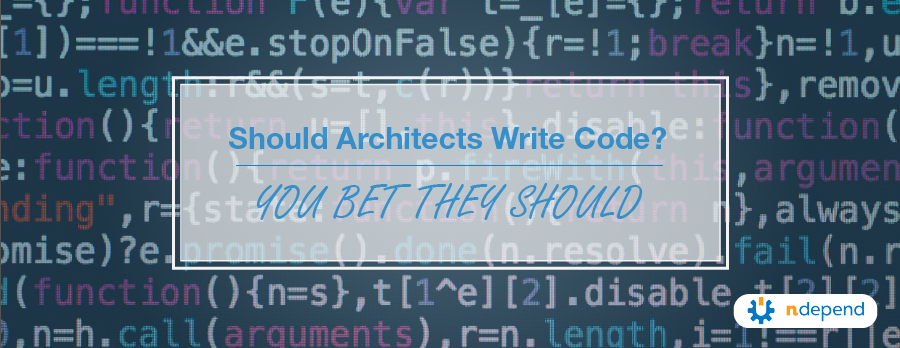 Should Architects Write Code