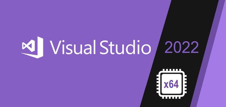 Visual Studio 2022 64 bits