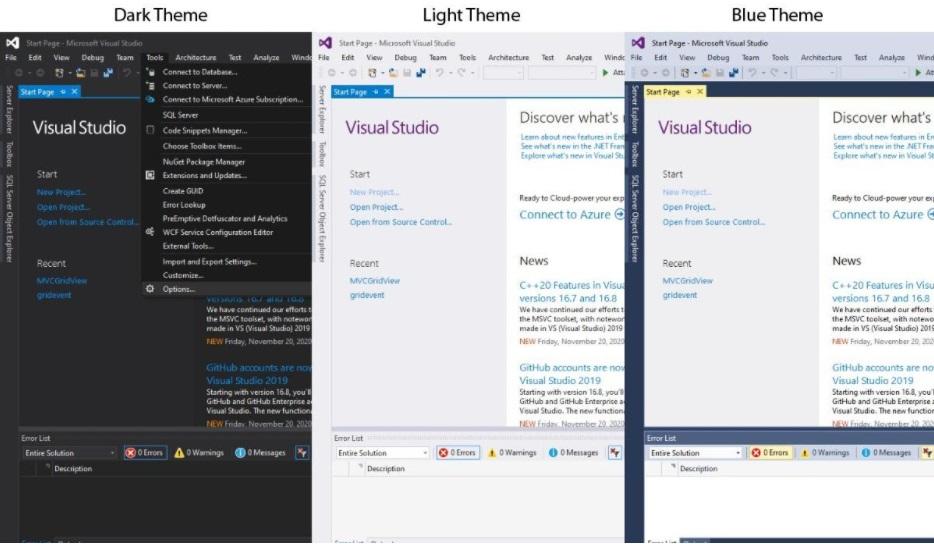 Visual-Studio-Theme-Dark-Light-Blue