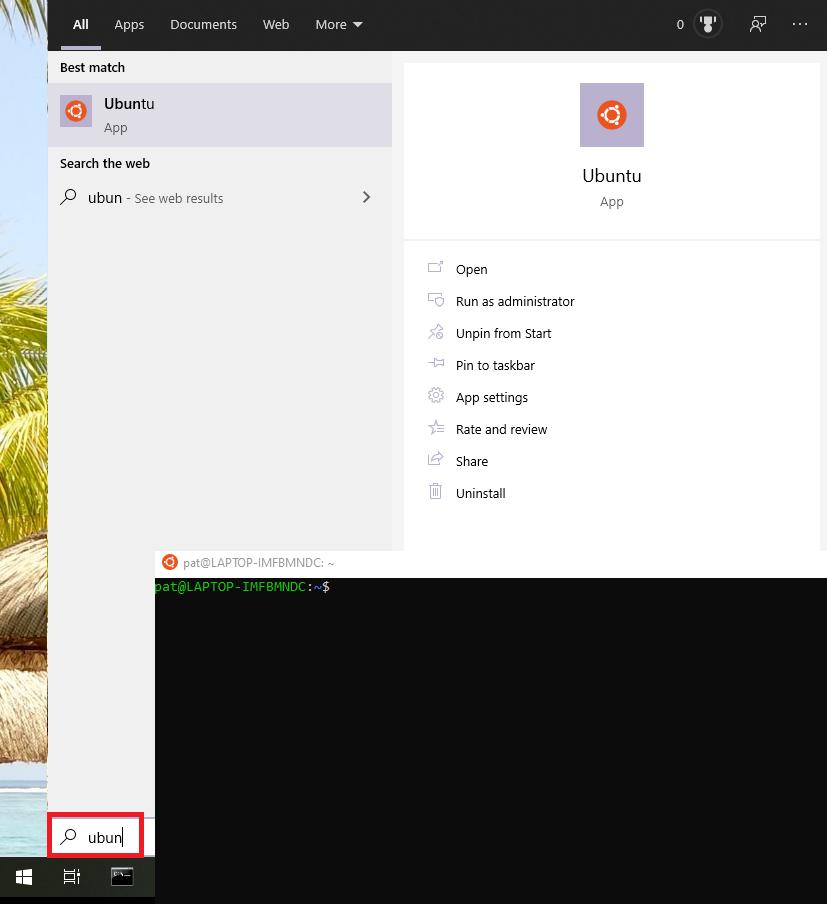 WSL2-Ubuntu-On-Windows
