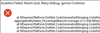 code assertion