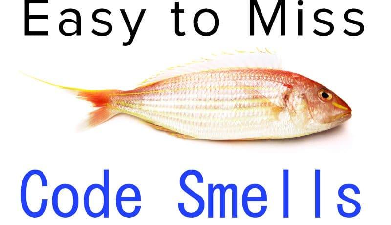 code smells fish