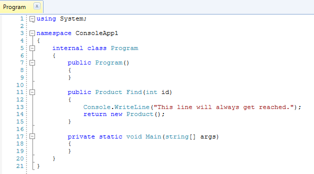 You can see in this code snippet that the compiler has optimized the null check out.