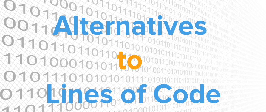 alternatives to lines of code