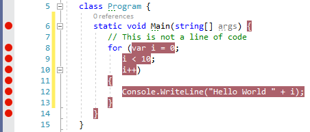 .NET sequence points