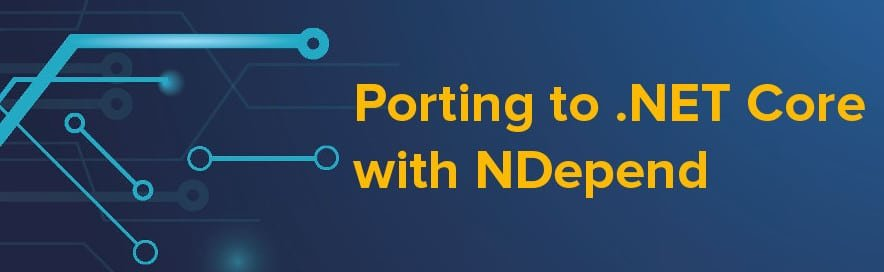 porting .net core with NDepend