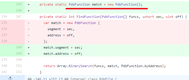 Checkin of a static field with mutable type